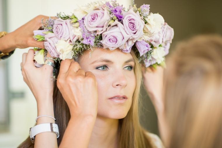 Boho Haarschmuck Hochzeit