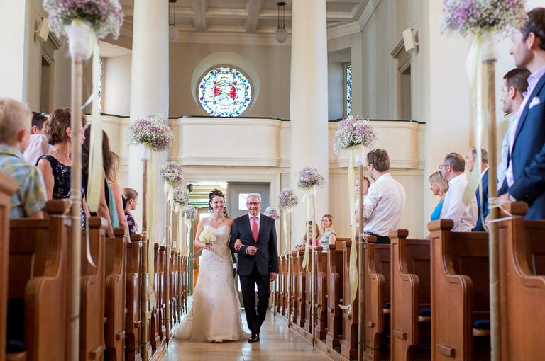 Hochzeitsfotograf Kirche Fluntern