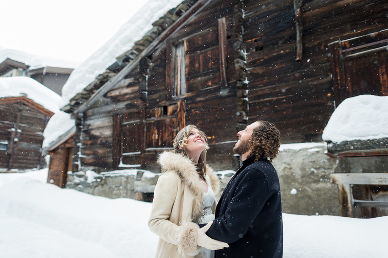 Winterwedding Zermatt