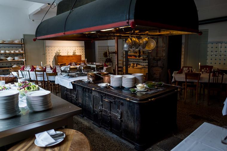 alte Küche Kurhaus bergün