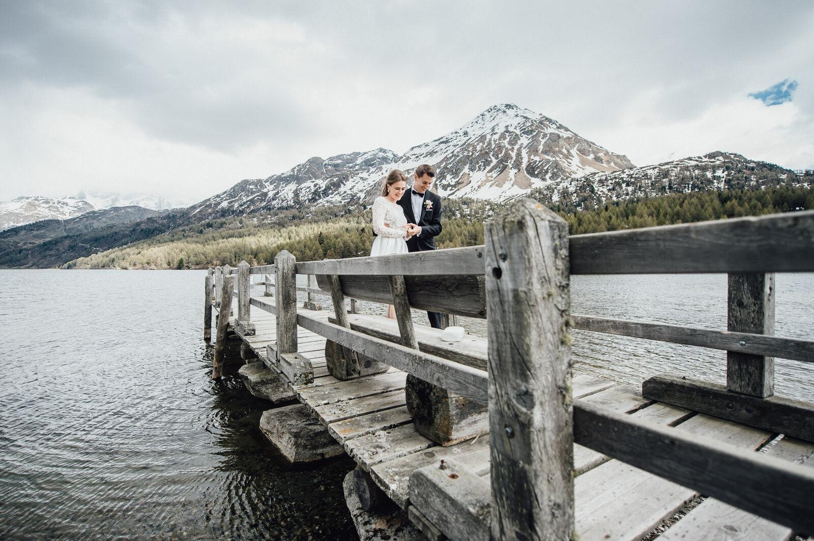 Hochzeitsfotograf Lej da Staz