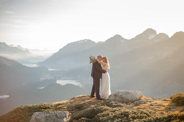 Hochzeitsfotograf Engadin Muottas Muragl